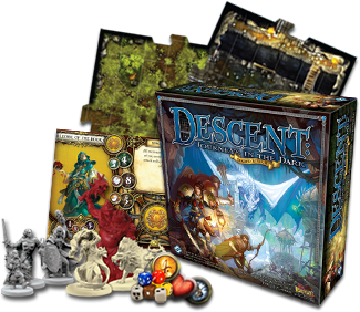 Descent 2nd Ed -Fantasy Flight Games
