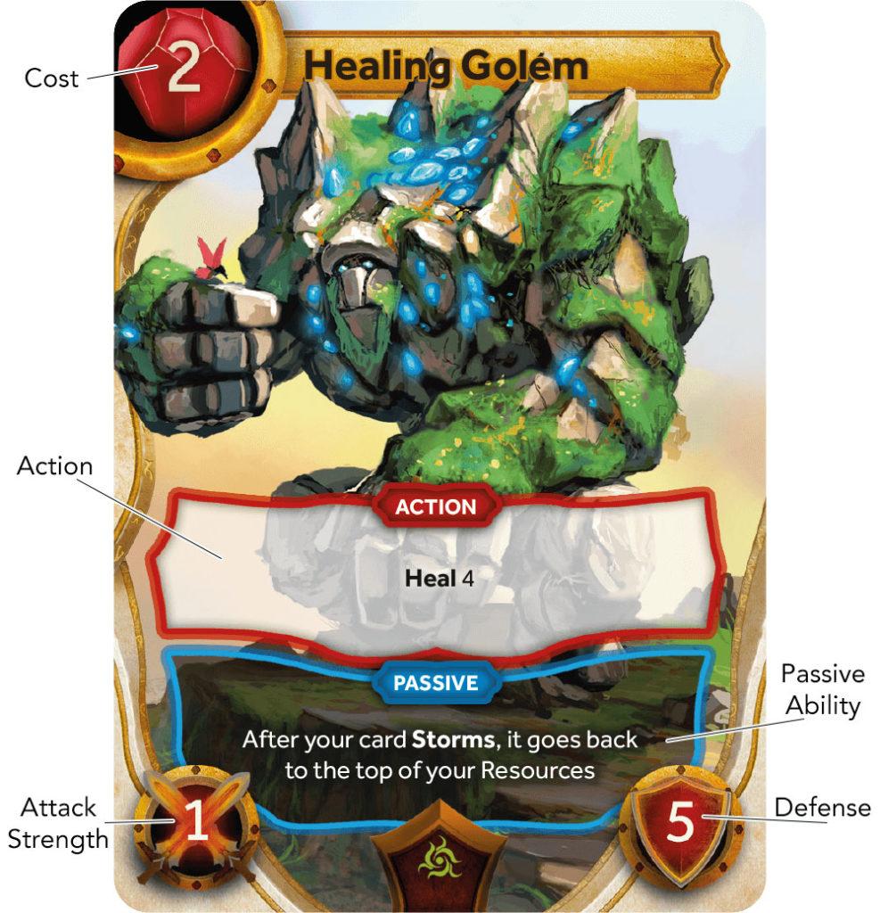 Healing Golem - Card Anatomy
